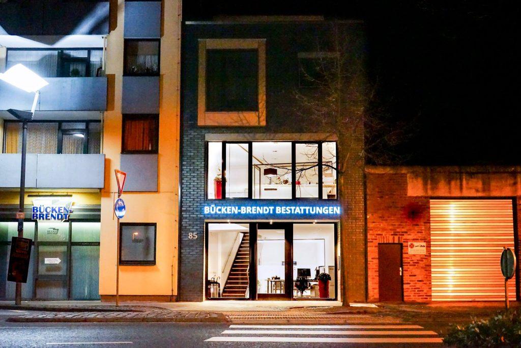 Ab sofort finden Sie uns, direkt um die Ecke, in unserem neuen Firmengebäude am Langwahn 85.